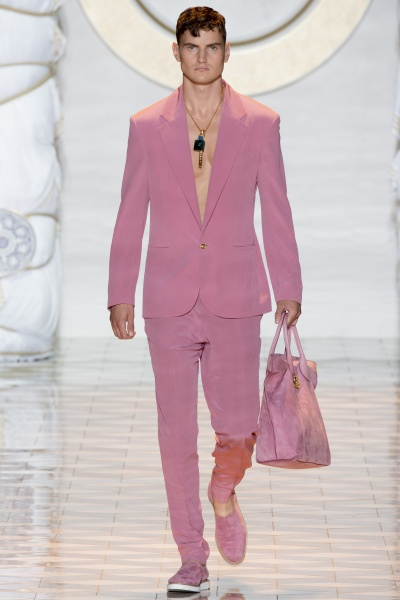 Versace2015米兰春夏男装周