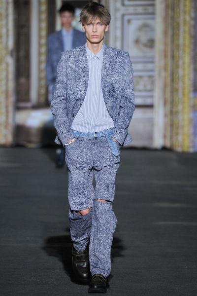 Kris Van Assche2015巴黎春夏男装周