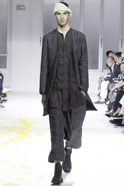 Yohji Yamamoto2015巴黎春夏男装周