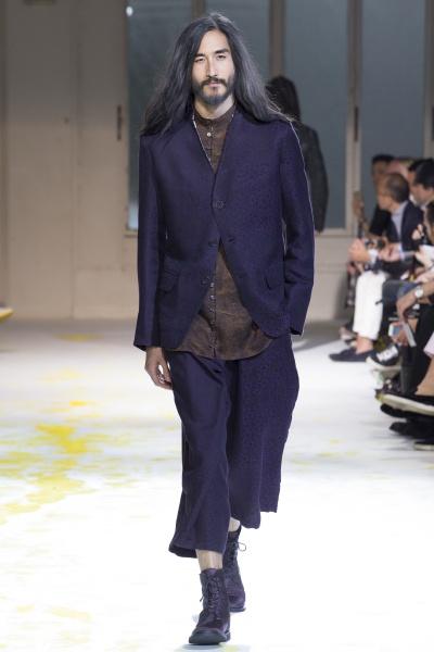 Yohji Yamamoto2015春夏男装周
