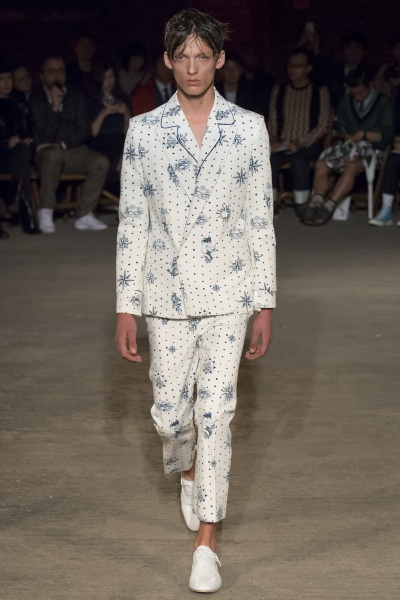Alexander McQueen2016春夏男装周