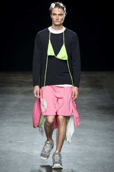 Christopher Shannon2016春夏男装周