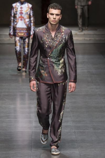 Dolce & Gabbana2016米兰春夏男装周