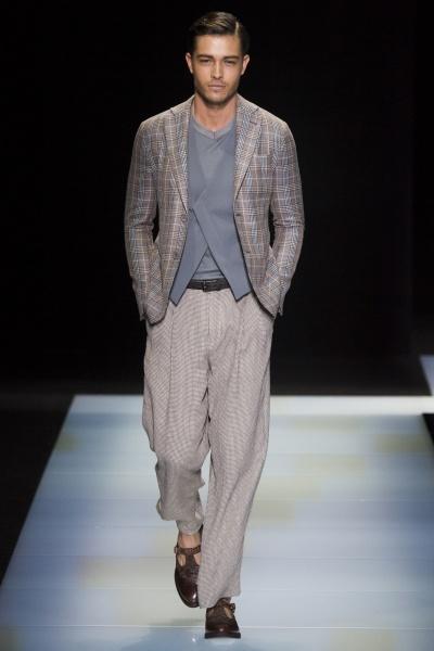 Giorgio Armani2016米兰春夏男装周