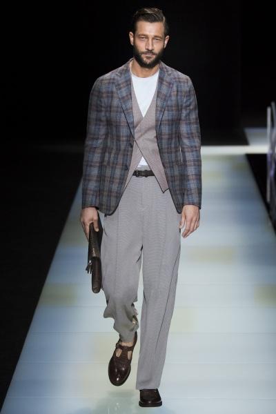 Giorgio Armani2016春夏男装周