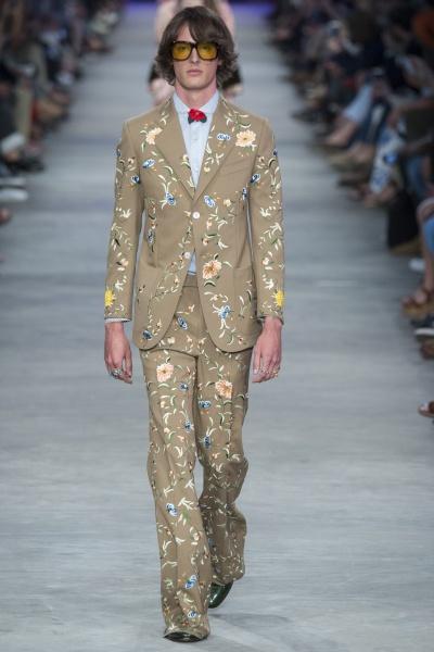 Gucci2016春夏男装周