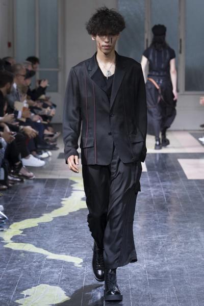 Yohji Yamamoto2016春夏男装周