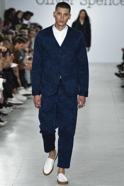Oliver Spencer2017春夏男装周
