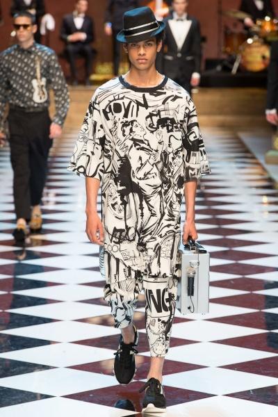 Dolce & Gabbana2017春夏男装周