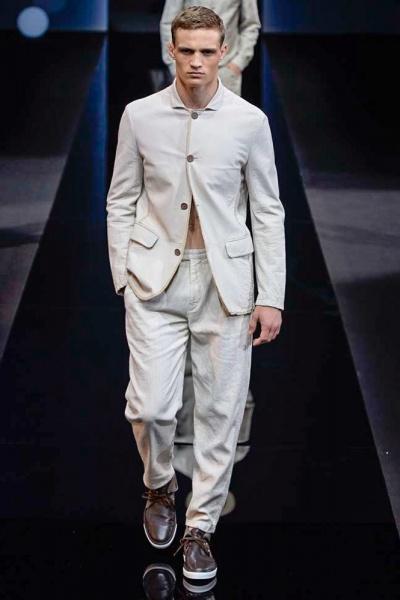 Giorgio Armani2017春夏男装周