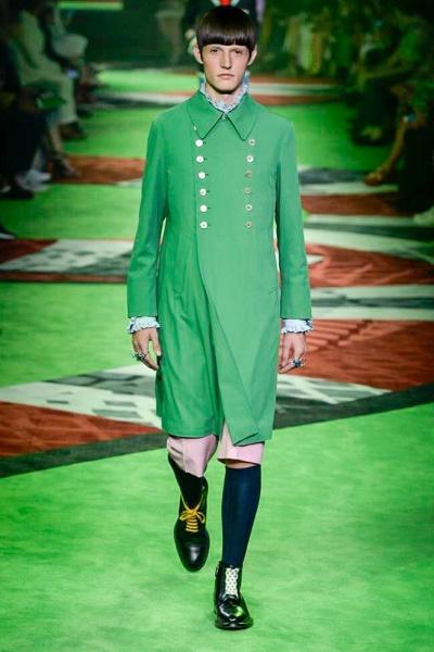 Gucci2017米兰春夏男装周