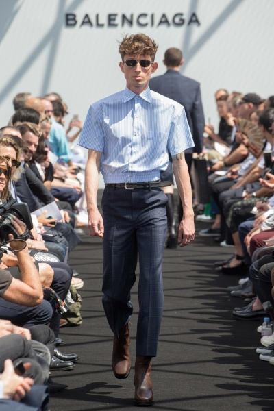 Balenciaga2017春夏男装周