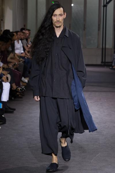 Yohji Yamamoto2017春夏男装周