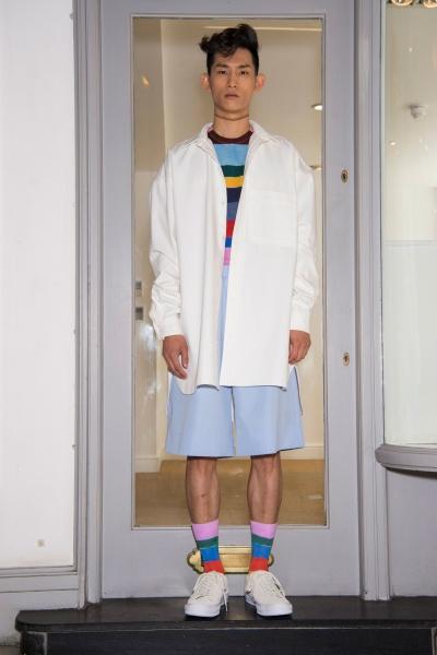 Lou Dalton2018伦敦春夏男装周