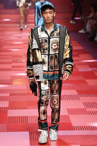 Dolce & Gabbana2018春夏男装周