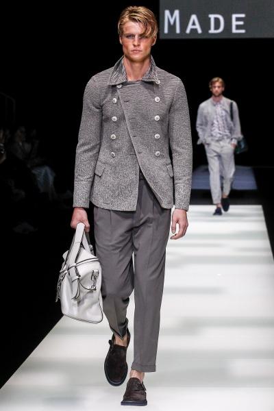 Giorgio Armani2018春夏男装周