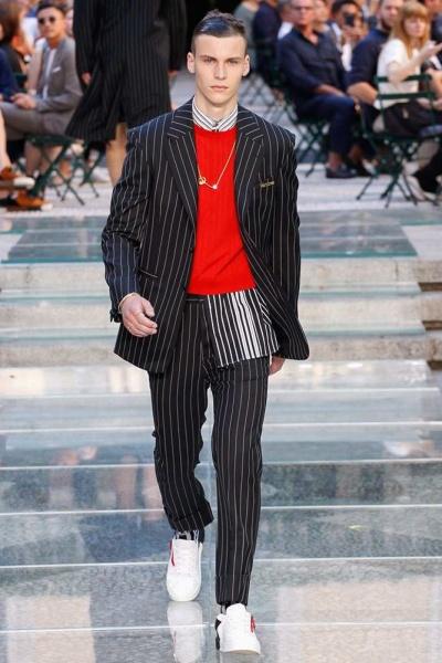 Versace2018米兰春夏男装周