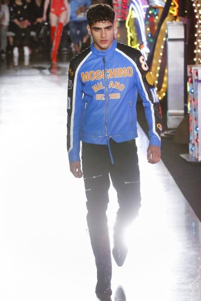 Moschino2018纽约春夏男装周