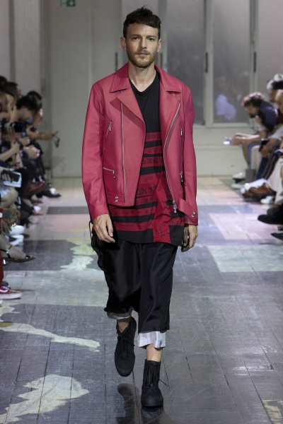 Yohji Yamamoto2018纽约春夏男装周