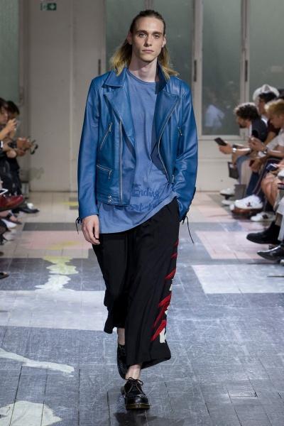 Yohji Yamamoto2018春夏男装周