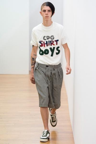 comme des garcons shirt2018春夏男装周