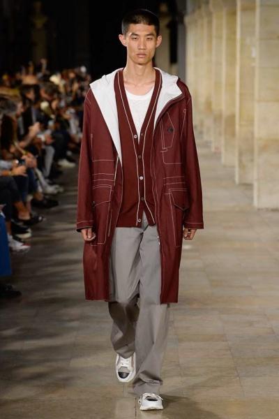 Hermès2018春夏男装周