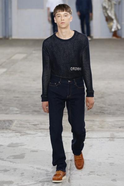 Julien David2018春夏男装周