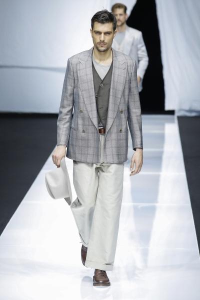 Giorgio Armani2019春夏男装周