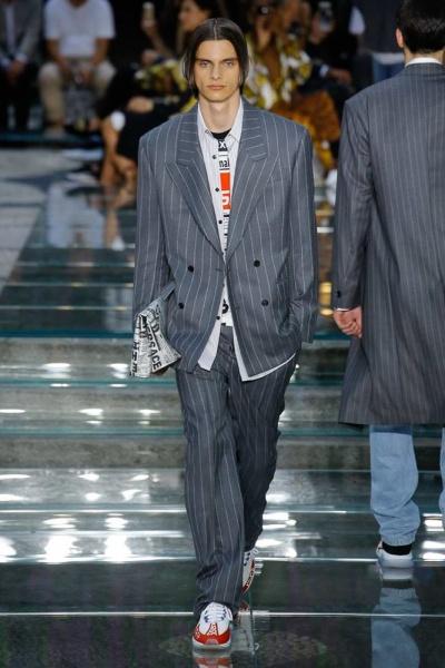 Versace2019米兰春夏男装周