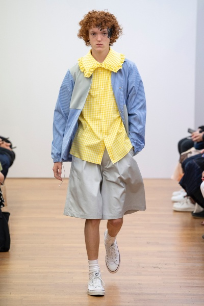 comme des garcons shirt2019春夏男装周