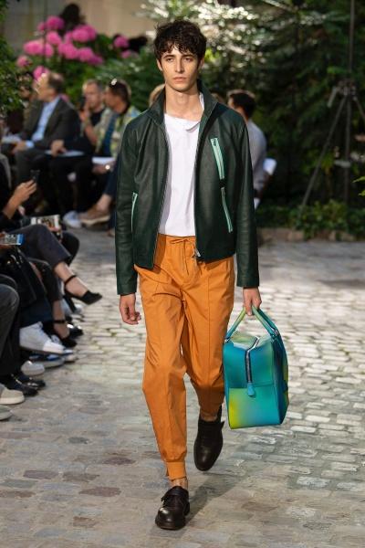 Hermès2019巴黎春夏男装周
