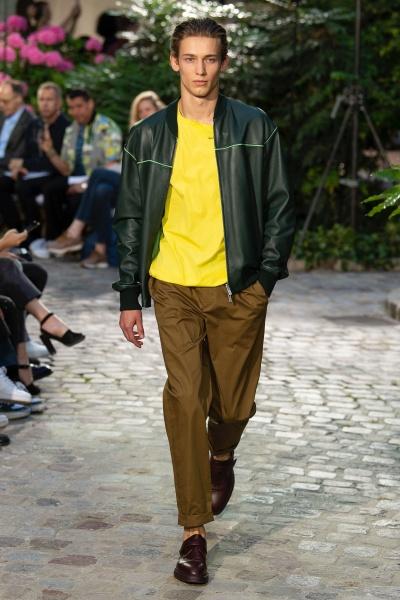 Hermès2019春夏男装周