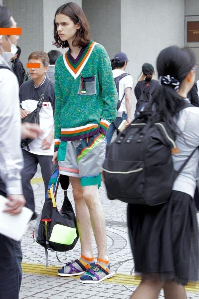 Kolor2019春夏男装周