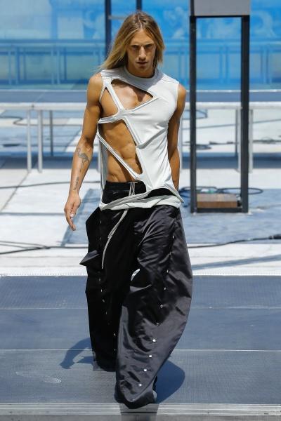Rick Owens2019巴黎春夏男装周