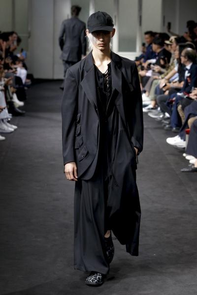 Yohji Yamamoto2019春夏男装周