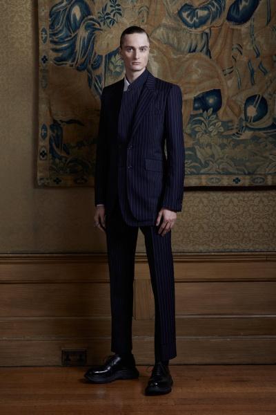 2020年春夏男裝時裝發布 - 倫敦<br>Alexander McQueen