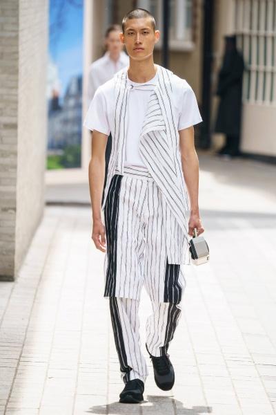 2020年春夏男装时装发布 - 伦敦<br>Chalayan