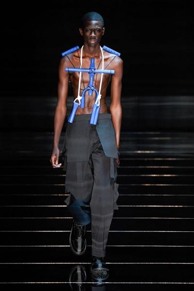 2020年春夏男装时装发布 - 伦敦<br>Craig Green