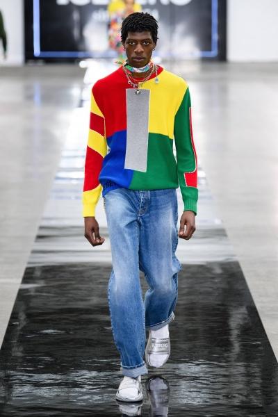 2020年春夏男裝時裝發布 - 倫敦<br>Iceberg