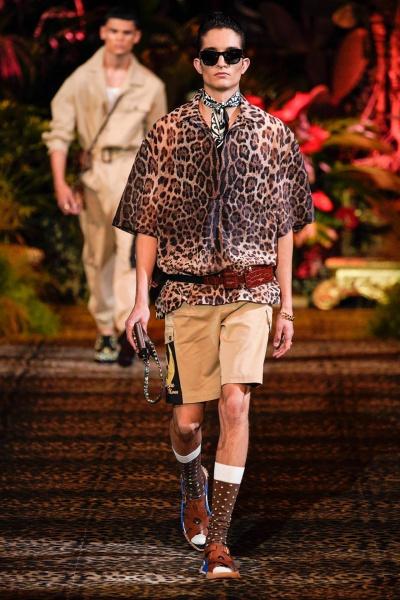 2020年春夏男装时装发布 - 米兰<br>Dolce & Gabbana