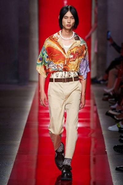 2020年春夏男裝時裝發布 - 米蘭<br>DSquared2