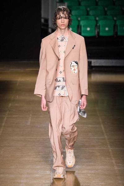 2020年春夏男装时装发布 - 米兰<br>MSGM