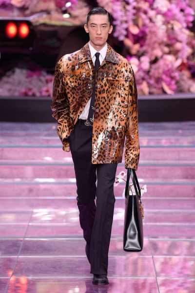 Versace2020春夏男装周