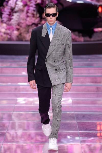 Versace2020米兰春夏男装周