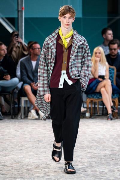 Hermès2020巴黎春夏男装周