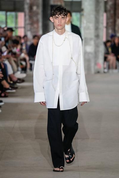 2020年春夏男裝時裝發布 - 巴黎<br>Jil Sander