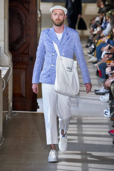 2020年春夏男装时装发布 - 巴黎<br>Junya Watanabe