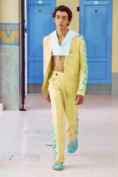 2020年春夏男装时装发布 - 巴黎<br>Lanvin
