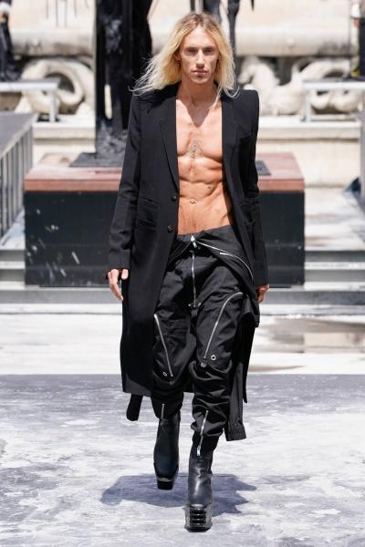 2020年春夏男装时装发布 - 巴黎<br>Rick Owens