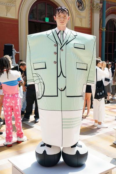 2020年春夏男装时装发布 - 巴黎<br>Thom Browne
